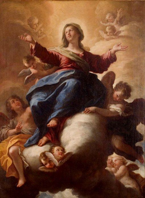 Assumption of the Virgin | Paolo de' Matteis | Oil Painting