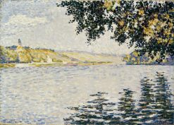 View of the Seine at Herblay | Paul Signac | Oil Painting