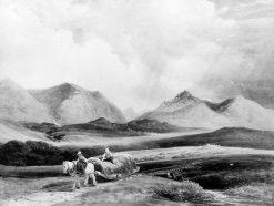 A View in Wales Between Pentir and Bangor   Peter de Wint   Oil Painting