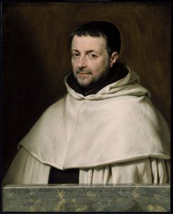 Reverend Father Giovanni Philippini | Philippe de Champaigne | Oil Painting