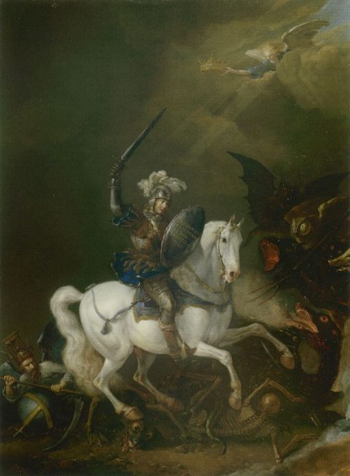 Saint George and the Dragon | Philips Wouwerman | Oil Painting