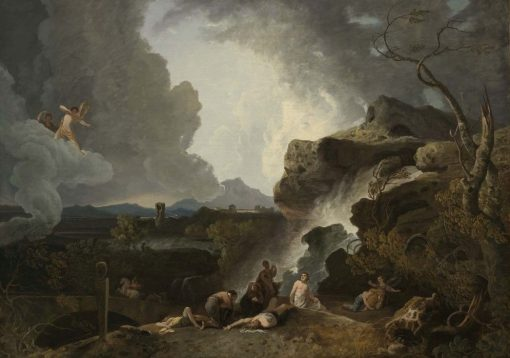 Apollo Destroying the Children of Niobe | Richard Wilson