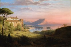 The Bay of Naples | Robert Walter Weir | Oil Painting
