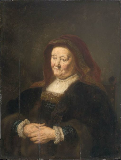 Portrait of an Old Woman | Salomon Koninck | Oil Painting