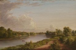 View of the Thames | Thomas Cole | Oil Painting