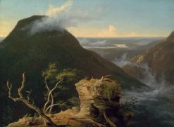 View of the Round-Top in the Catskill Mountains(also known as Sunny Morning on the Hudson) | Thomas Cole | Oil Painting
