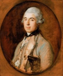 Captain Thomas Mathews | Thomas Gainsborough | Oil Painting