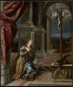 Saint Catherine of Alexandria at Prayer | Titian | Oil Painting