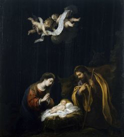 The Nativity | BartolomE Esteban Murillo | Oil Painting