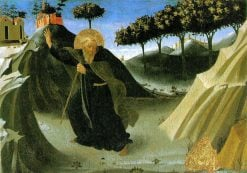 The Temptation of Saint Anthony Abbot | Fra Angelico | Oil Painting