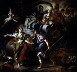 The Royal Hunt of Dido and Aeneas | Francesco Solimena | Oil Painting