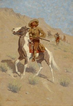 The Scout | Frederic Remington | Oil Painting