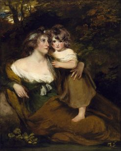 The Countess of Darley and Her Daughter
