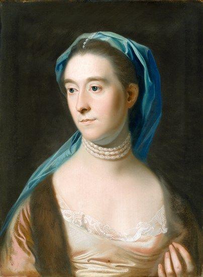 Portrait of Mrs. Joseph Henshaw (Sarah Henshaw