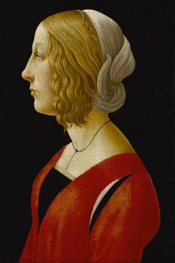 Bust of a Young Woman | Raffaellino del Garbo | Oil Painting