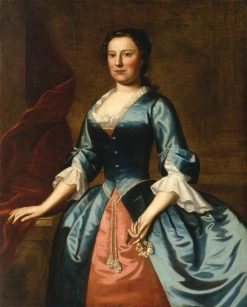 Portrait of Mrs. Samuel McCall
