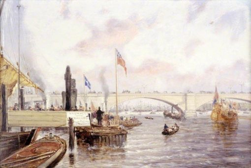 London Bridge | Frederick Waters Watts | Oil Painting
