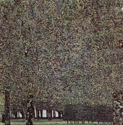 The Park | Gustav Klimt | Oil Painting