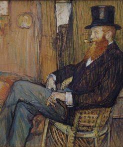 M. de Lauradour | Henri de Toulouse Lautrec | Oil Painting