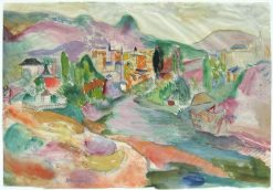 View of Vence | Pierre Bonnard | Oil Painting
