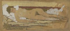Reclining Nude | Pierre Bonnard | Oil Painting