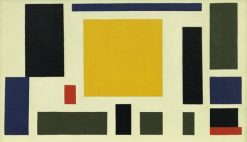 Composition VIII (The Cow) | Theo van Doesburg | Oil Painting
