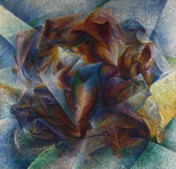 Dynamism of a Soccer Player | Umberto Boccioni | Oil Painting