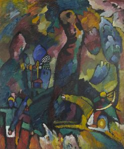 Picture with an Archer | Wassily Kandinsky | Oil Painting