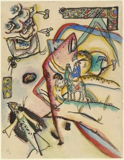 Reiter (The Horseman) | Wassily Kandinsky | Oil Painting