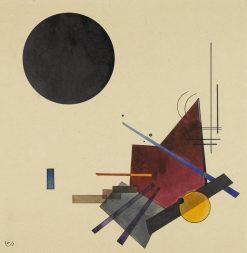Schwarze Beziehung (Black Relationship) | Wassily Kandinsky | Oil Painting