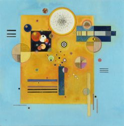 Soft Pressure | Wassily Kandinsky | Oil Painting