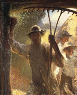The Haymakers | Sir George Clausen