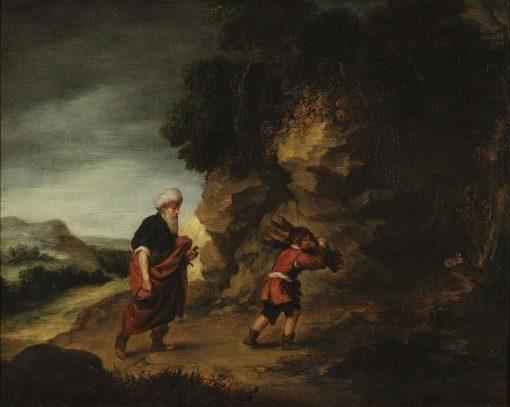 Abraham and Isaac   Gainsborough Dupont   Oil Painting