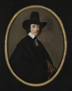Portrait of a Gentleman | Gerard ter Borch | Oil Painting