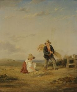 Youthful Gleaners | William Collins | Oil Painting