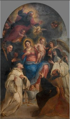 Saint Bernard of Clairvaux Appearing before the Virgin | Gaspard de Crayer | Oil Painting