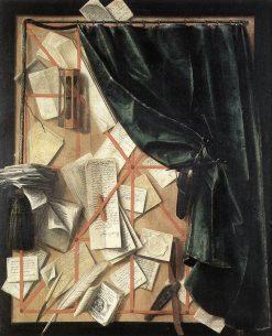 Trompe l'Oeil | Cornelis Norbertus Gysbrechts | Oil Painting