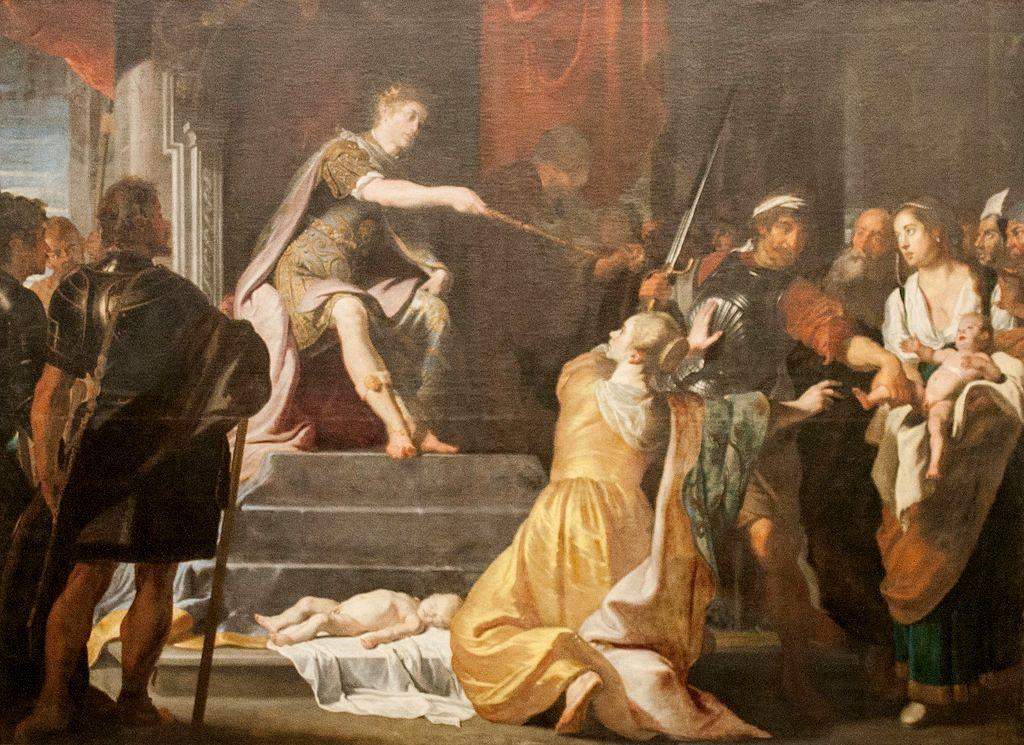 Judgement of Solomon | Gaspard de Crayer | Oil Painting