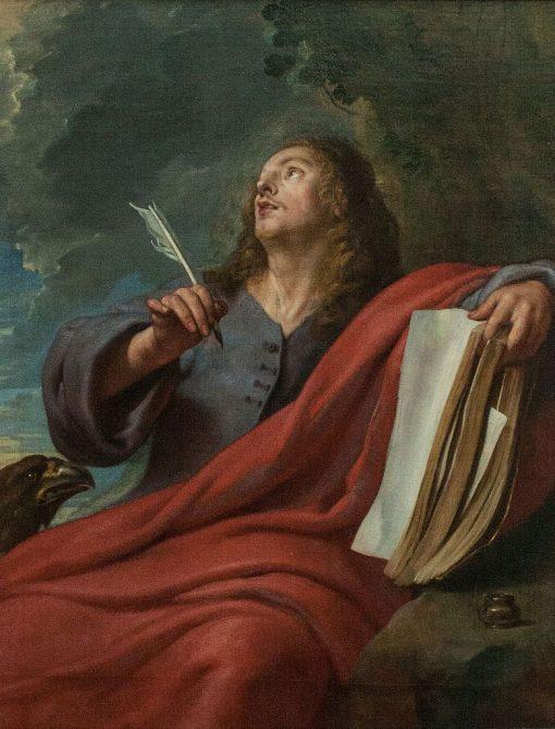 Saint John on Patmos | Gaspard de Crayer | Oil Painting