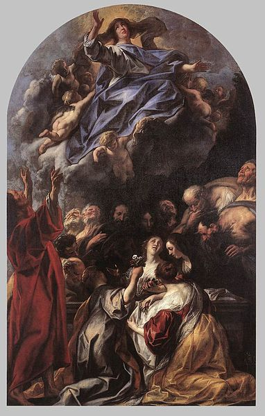 Assumption of the Virgin | Jacob Jordaens | Oil Painting