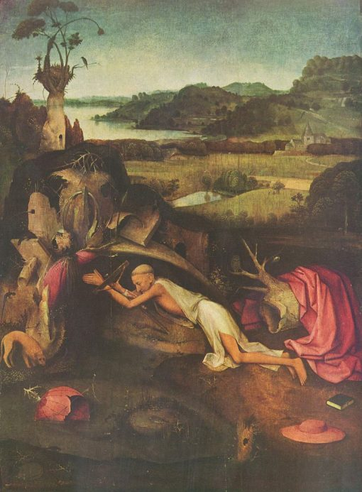 Saint Jerome | Jheronimus Bosch | Oil Painting