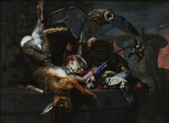 Still Life with Owl | Pieter Boel | Oil Painting