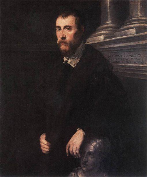 Giovanni Paolo Cornaro | Tintoretto | Oil Painting