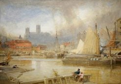 Lincoln | Albert Goodwin | Oil Painting