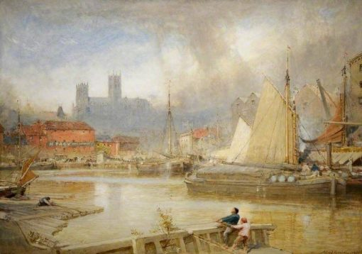 Lincoln   Albert Goodwin   Oil Painting
