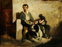 The Blind Beggar | Alexandre Gabriel Decamps | Oil Painting