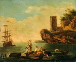 Sea Piece | Claude Joseph Vernet | Oil Painting