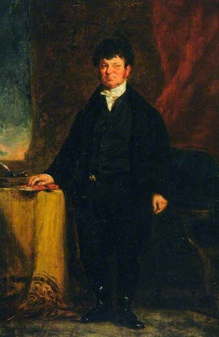 A Scottish Professor | David Wilkie | Oil Painting