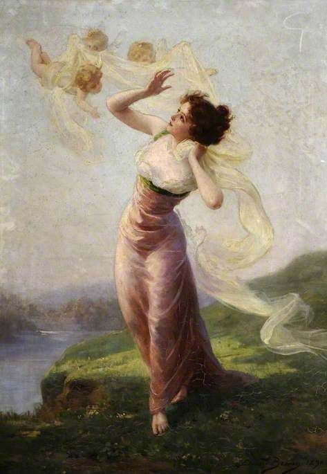A Springtime Idyll | Edouard Bisson | Oil Painting