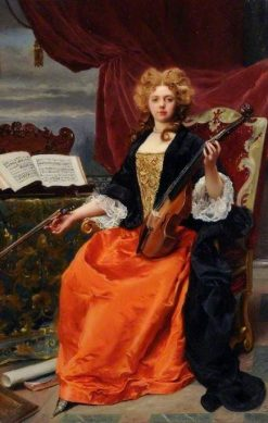 Music | Gustave Jean Jacquet | Oil Painting
